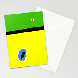 Joan Miro Style Stationery Cards