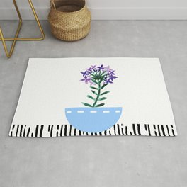 Potted Plant 6 Rug