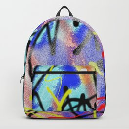 Abstract Urban Art Backpack