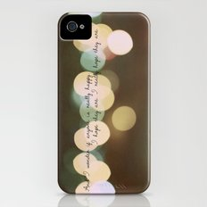And I Wonder if Anyone is Really Happy Slim Case iPhone (4, 4s)