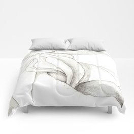 Orchid Center Sketch Comforters