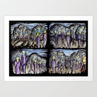 cities Art Prints featuring Cities by Kimmo Rantalainen