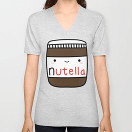 Nutella kawaii. Unisex V-Neck