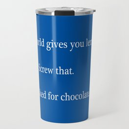 Bitter Response Travel Mug