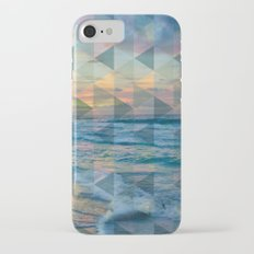 Beach mosaic iPhone 7 Slim Case