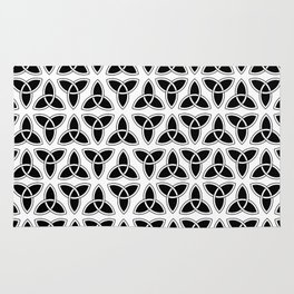 celtic trinity knot - triquetra pattern Rug