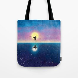The Tightrope Walker 2 Tote Bag