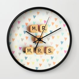 Mr and Mrs Wall Clock