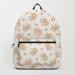 Shaman's Hand - Bright Gold Backpack