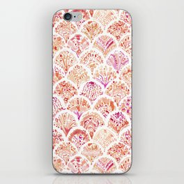 UNDERTOW Coral Mermaid Scales iPhone Skin
