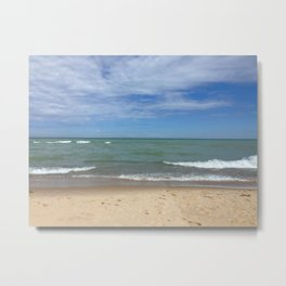 A Peaceful Moment At The Lake Metal Print