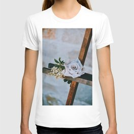 Rose on the Cross (Color) T-shirt