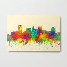 Baltimore, Maryland Skyline - SG Metal Print