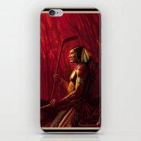 blackhawks iPhone & iPod Skins featuring Blackhawks Tribute by Bryan Butler Art