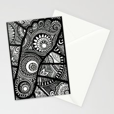 Foot bound Stationery Cards