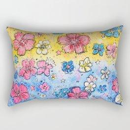 Static Smiles Rectangular Pillow