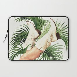 These Boots - Palm Leaves Laptop Sleeve