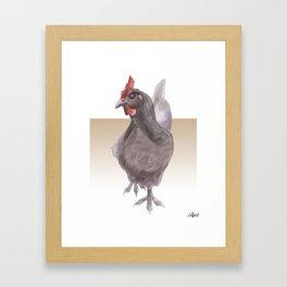 Blue Sussex Framed Art Print