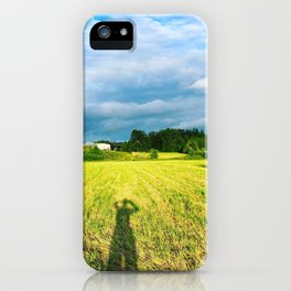 Chemin Richelieu, Saint-Mathias, Québec, Cananda iPhone Case