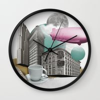 led zeppelin Wall Clocks featuring Zeppelin by Pepper / Shop