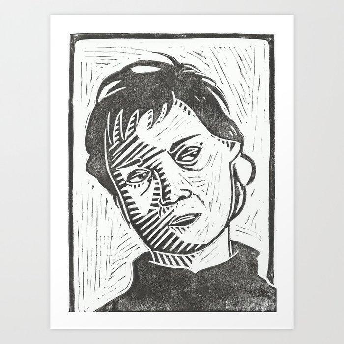 Dee Dee Art Print
