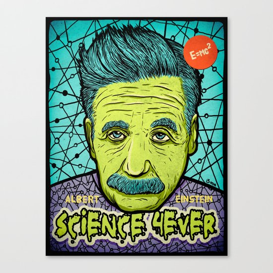Science 4ever Canvas Print