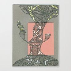 Tree Sitter Canvas Print