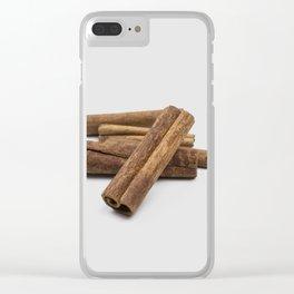 cinnamon sticks - spice Clear iPhone Case