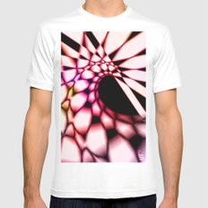 Curve MEDIUM White Mens Fitted Tee