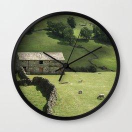 Walls and Barns Wall Clock