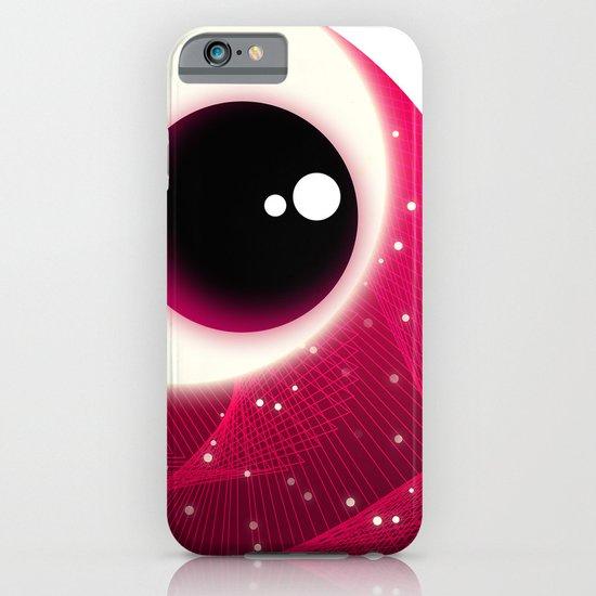 Red Dot Eye iPhone & iPod Case