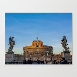 The Church Of Angels Canvas Print