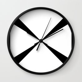 Simple Construction Wall Clock