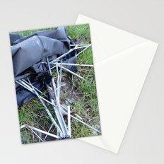 Umbrella Blues 3 Stationery Cards