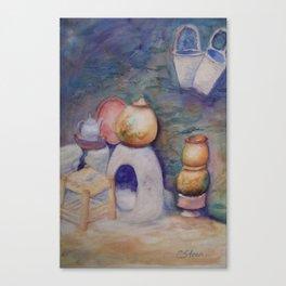Berber Kitchen WC170413a-11 Canvas Print