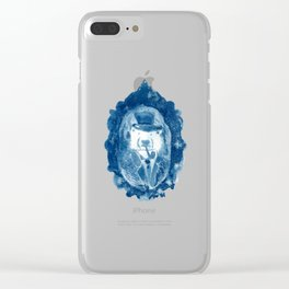 Portrait of Ursus Maritimus, Explorateur of the Arctic Regions Clear iPhone Case