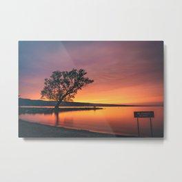 Seneca Lake - No Swimming Allowed Metal Print