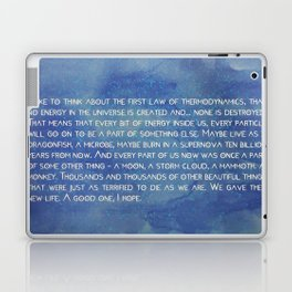 the 1° law colors Laptop & iPad Skin