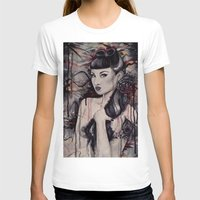 pinup T-shirts featuring pinup by Andreea Red