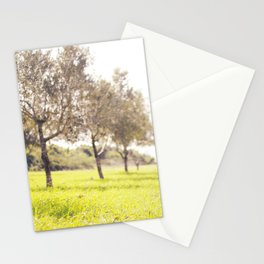 Olive trees heaven - Israel Stationery Cards