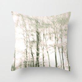 Windy Woods Throw Pillow