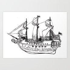 Ship Mercy Art Print