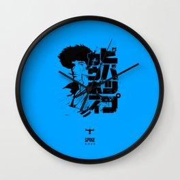 060 Spike Black Jap Wall Clock