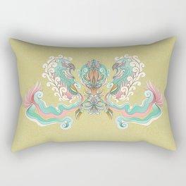 """Avis """"Green"""" Rectangular Pillow"""