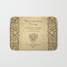 Shakespeare. Much adoe about nothing, 1600 Bath Mat