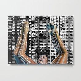 Hong Kong swimming aerobics Metal Print