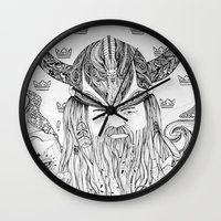 viking Wall Clocks featuring Viking by Infra_milk