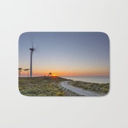 The wind, energy of the present and future Bath Mat