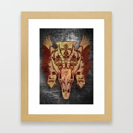 Welcome to Hell Framed Art Print