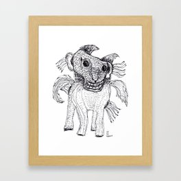 Unfortunately My Little Pony Experimented With Hallucinogens Framed Art Print